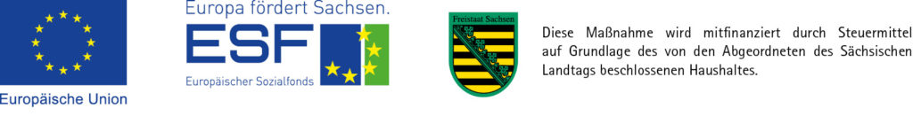 Logo Tandem SMWA EFRE-ESF Sachsen