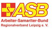 Gelbes Kreuz auf Rotem Grund. ASB - Arbeiter Samariter Bund.